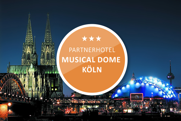 Partnerhotel Musical Dome Cologne