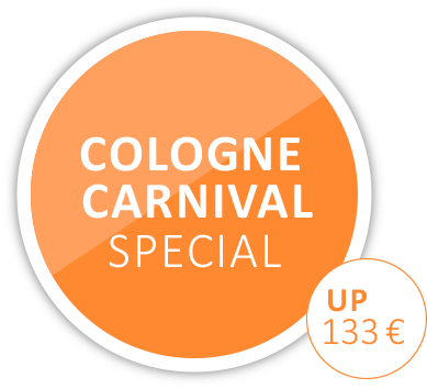 Carnival in cologne accommodation offer in the city center | Hotel